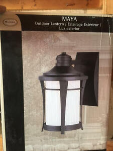 Beautiful lantern. new in box. Never opened. Never used