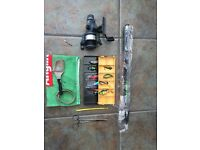 SPINNING FISHING GEAR - AS NEW