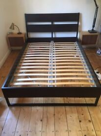 Ikea Trysil double bed frame great condition