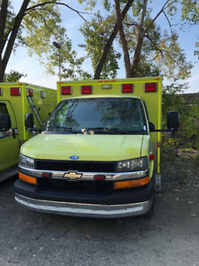 ambulance 2013 chevrolet diesel