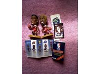 2 CHICAGO BULLS BASKETBALL CORINTHIAN FIGURES/MEN 1996