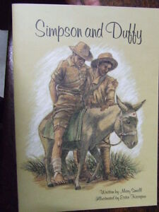 Simpson and Duffy Donkey AUSTRALIAN WW1 GALLIPOLI Anzac KIDS BOOK