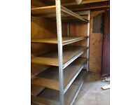 PALLET RACKING SHELVING ONE BAY IDEAL FOR GARAGE SHED WORKSHOP