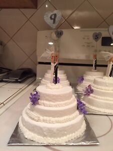 Wedding Cake Table Centers