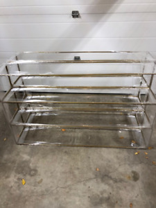 """Architecturally Designed Table Center Frames, 54"""" long by 10.5"""""""