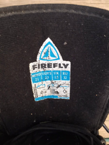 Firefly snowboarding boots