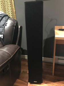 Polk Audio TSi500 High Performance Tower Speakers with Four 6-1/