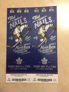 Leafs vs Florida Panthers