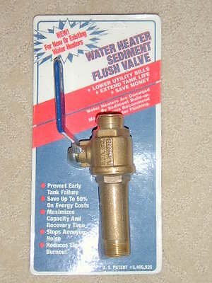 Water Heater Sediment Remover for Gas and Electric Water Heaters ()