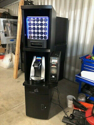 Keurig K-cup Coffee Vending Machine With Vending Unit Cabinet And B200 Brewer