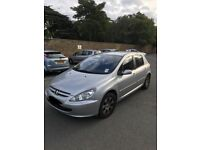 Peugeot 307 1.6 auto - low mileage great condition!
