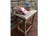 Small Lounge / Hall Table - Rustic. Distressed.