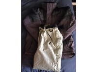 Mens small ski jacket and trousers
