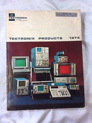 1974 Textronix Company Product Catalog. 335 Pages.