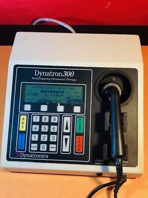 Dynatronics Dynatron 300 Pt Ultrasound Machine T1292