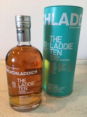 Bruichladdich 10 yrs., 2nd edition, scotch malt whiskey
