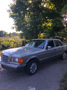 1982 MERCEDES BENZ 300 S D TURBO DIESEL PERFECT SHAPE  !!!!