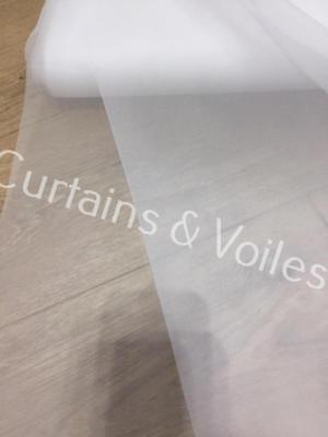 Ivory Cream Plain Voile Fabric Roll 150cm £1.60m Wedding Event  Ceiling Drapes