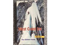 West Coast Ice Climbing Guide Book (as new)