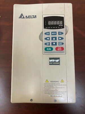 Delta Vfd075v23a-2 Vfd Inverter Variable Frequency Converter 7.5kw 10hp 3phase
