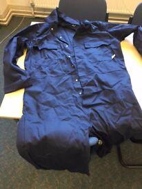 New Klopman Coverall flame retardant fabric
