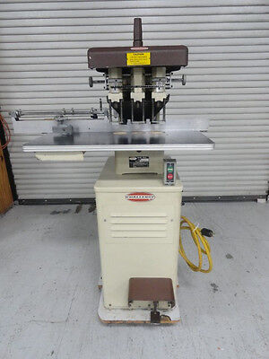 Challenge Eh-3a 3 Hole Drill Floor Model Brown