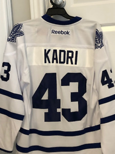 Toronto Maple Leafs Authentic Autographed Nazem Kadri Jersey 7963cff9b