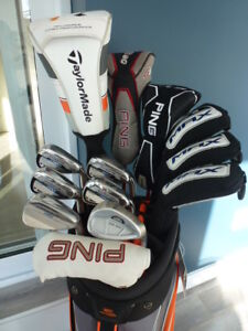Superbe ensemble de golf Cobra MAX 2017, Ping G15, Taylormade R1