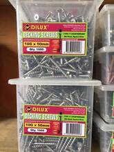 Stainless Steel decking screws 8G  $74.95 per box 1000 Qty Campbellfield Hume Area Preview