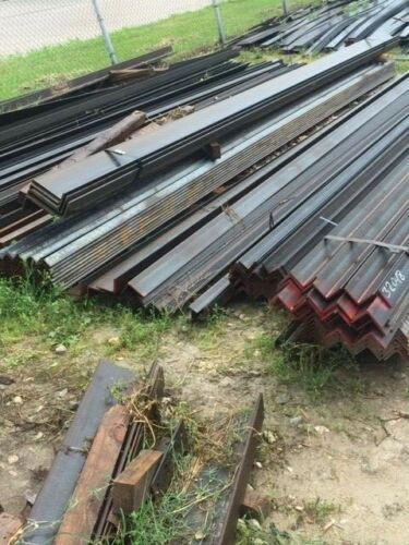 "3 X 3 X 1/4"" 12"" Long Steel Angle Iron Heavy Duty Bracing Bracket Weld 3x3x 0.25"