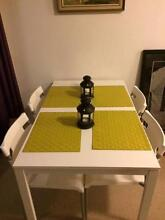IKEA MELLTORP Dining Table with 4 Dining Chairs Erskineville Inner Sydney Preview