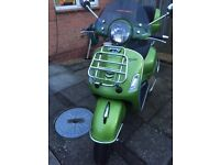 VESPA GTS 300 SUPER 2017 ABS METALIC GREEN TWO SEATER