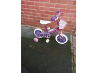 Colorful bike for girls