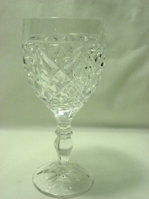 Action Industries Yugoslavia Lead Crystal Water Goblet