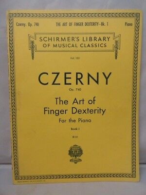 Piano Art of Finger Dexterity #1 CZERNY 50 Studies