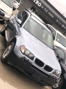 SAFETIED 2005 BMW X3 2.5i ALL WHEEL DRIVE