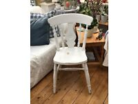 Lovely Shabby Chic Wooden Painted Chair
