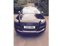 For sale: 2010 Audi Q7 3.0 TDI Quattro S Line, 5 dr, 7 seats. Automatic. High Spec.