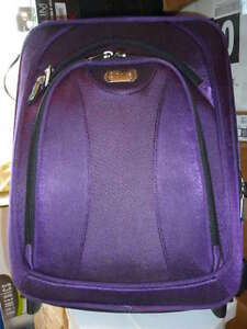 Dionite Purple Carry-On & Handbag