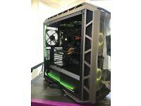 **TOP SPEC** GAMING PC SYSTEM *Intel i7 8700k* 32GB DDR4 - SSD --11GB GTX1080Ti-- WARRANTY