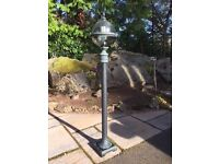 Garden Lights, with matching Wall Lights also available