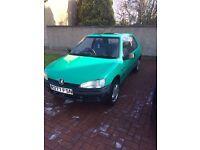 Peugeot 106 XND Diesel 1.5 83k Miles MOT £10=120miles Super Cheap