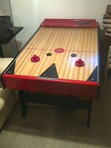 Vintage Air Hockey Table Modern Coffee Tables And Accent