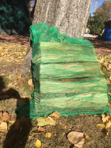 Birch bundled - fire wood - clean easy to handle