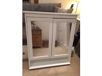 Ikea Hemnes White Bathroom cabinet with 2 doors