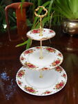 3 Tier Cake Stand Vintage