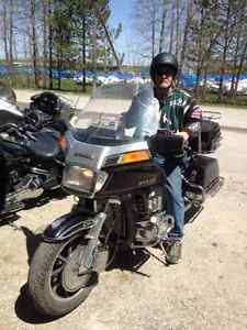 HONDA GOLDWING MOTORCYCLE 1200 cc 1984 * 80,000 KM