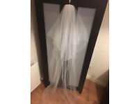 Beautiful Wedding Chapel Veil length £60