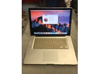 "MacBook Pro 15"" Intel i5 Quad Core @ 2.4GHz 8gb Memory 1TB HDD *OSX Sierra * Gold Cover £499*"