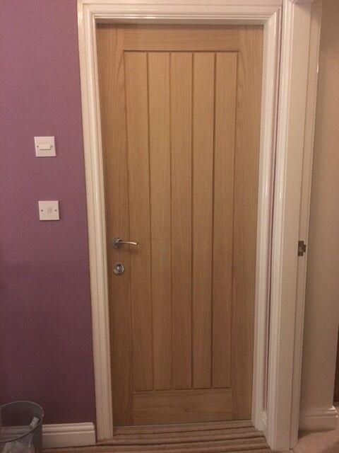 2 Oak Internal Door Howdens Dordogne In Didsbury Manchester